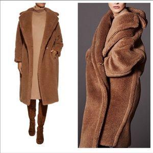 MaxMara Teddy Alpaca Coat